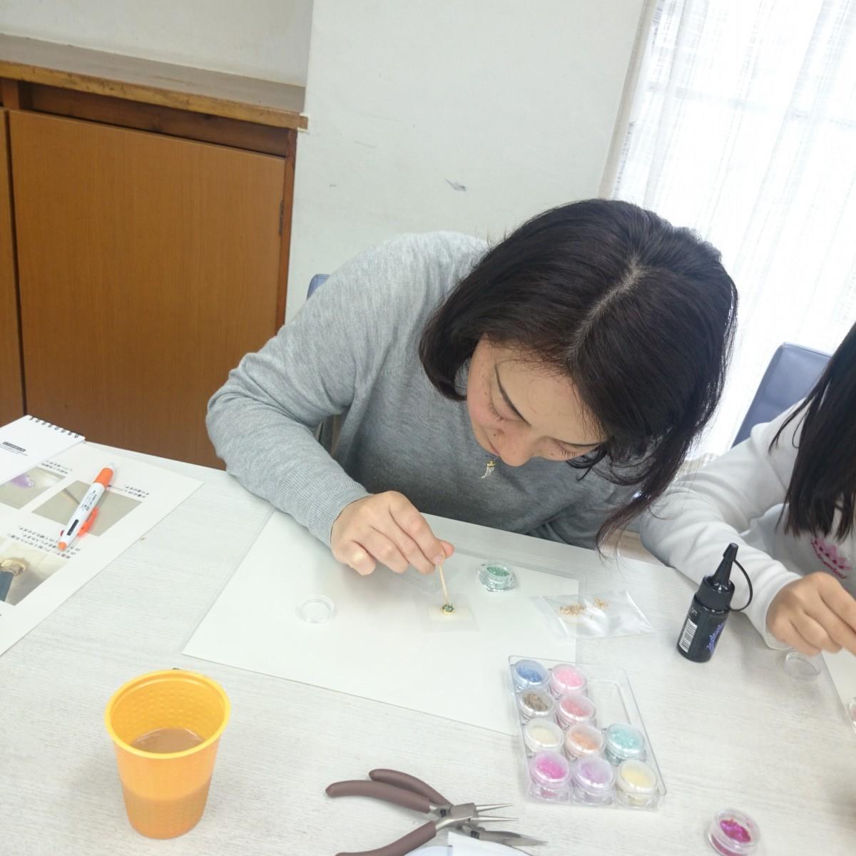 【1dayレッスン感想】「自分で作ったアクセサリーを身につけて楽しんでみたかった」横浜市・主婦 Uさんの感想