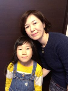 大谷奈緒美さん親子