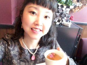 美漢茶とともに