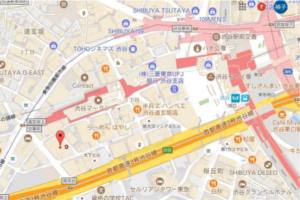 渋谷会場地図