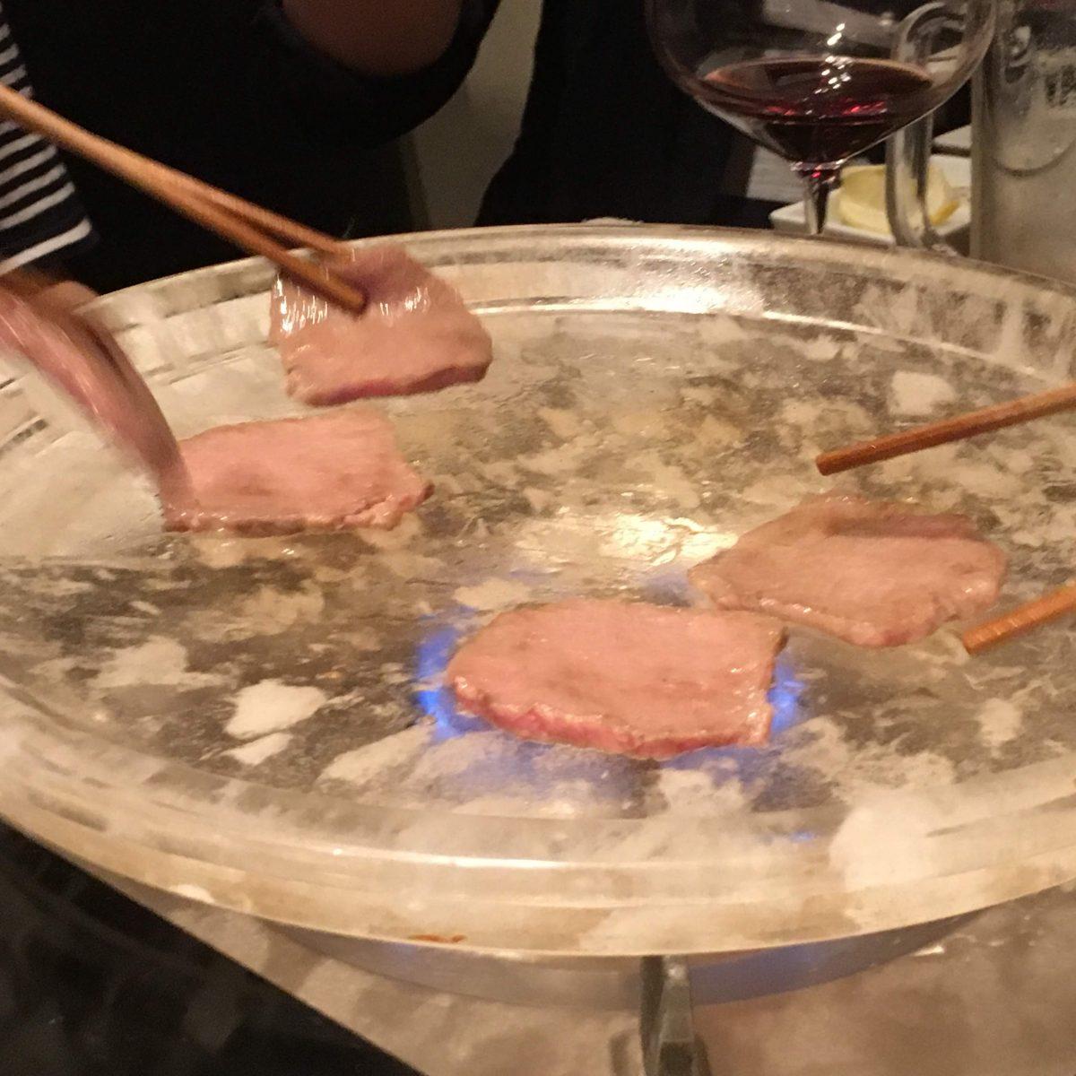水晶焼き肉